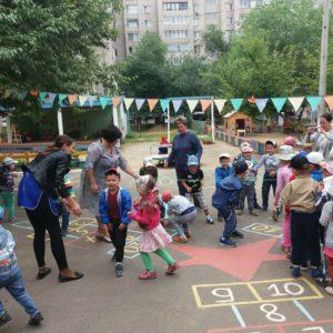 Валеоигрушки в детском саду 53 г. Чита