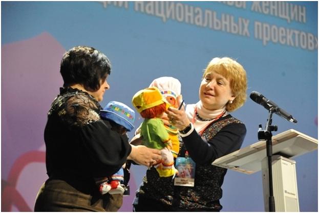 Валеоигрушки на Дальневосточном женском форуме