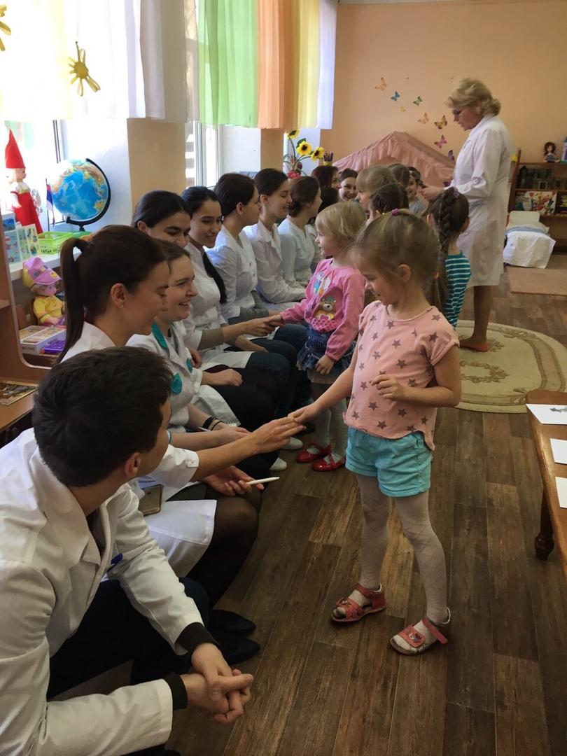 Студенты медакадемии посетили занятия